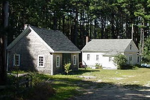 Old Schoolhouse and Blacksmith Shop